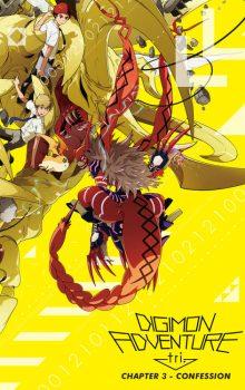 Nonton Film & Free Download Digimon Adventure tri. Part 3: Confession (2016) BluRay 480p & 720p 1080p 2160p 4K UHD